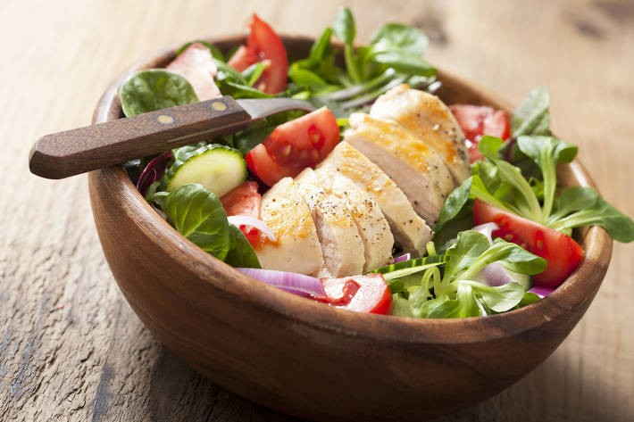 Baked Ricotta And Chicken Salad Body Renovation Experts